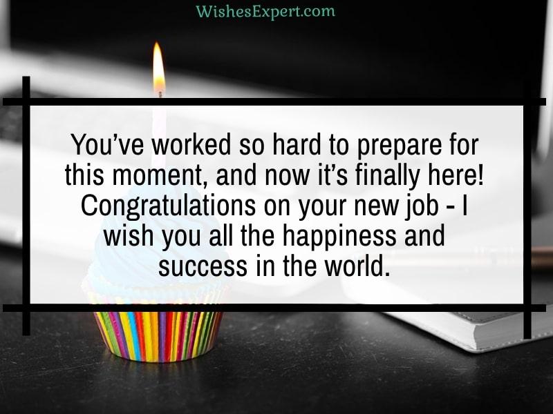 Congratulations For New Job