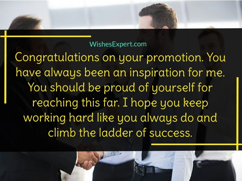 Congratulations On Promotion