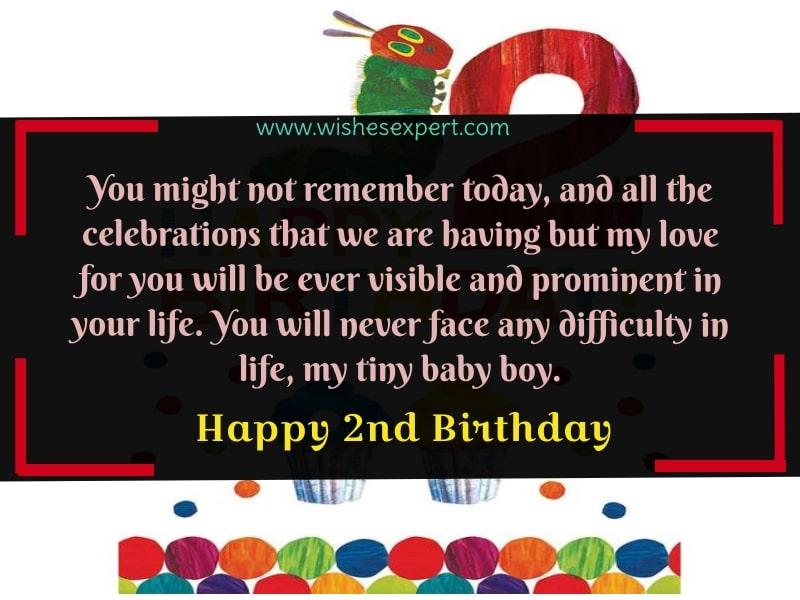 Happy 2nd Birthday Boy