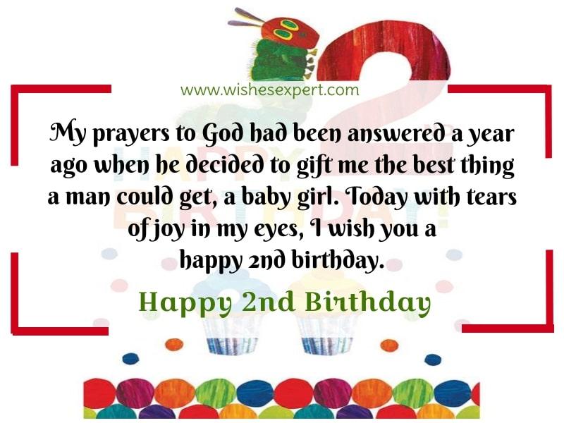 Happy 2nd Birthday Girl