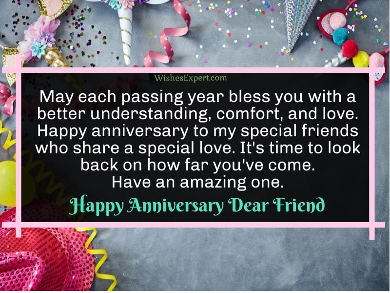 Happy Anniversary Friends