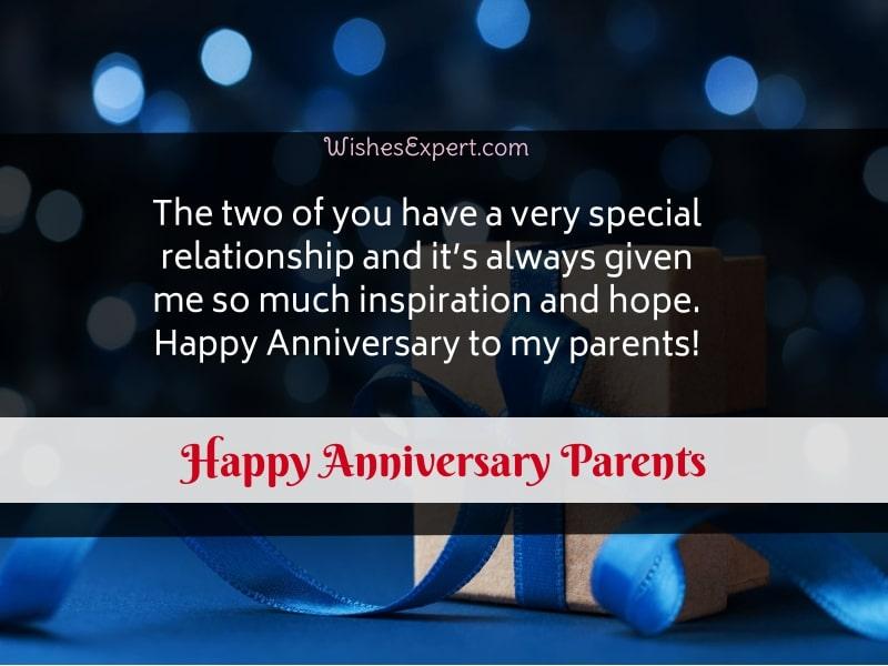 Happy Anniversary Parents Quotes