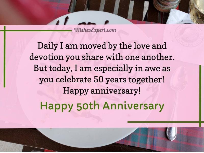 50 Year Wedding Anniversary