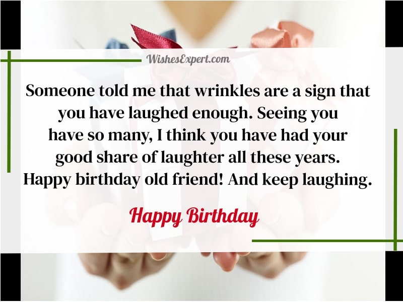 Birthday Wishes For Old Friend