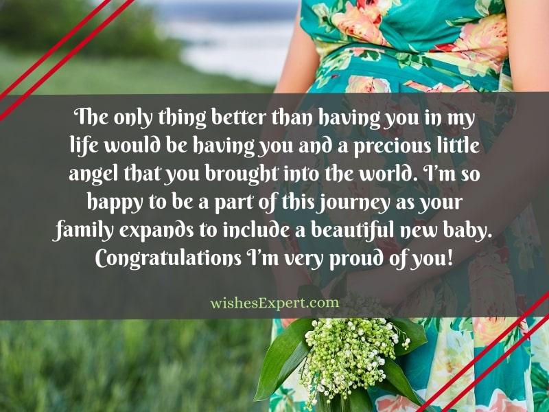 pregnancy congratulations