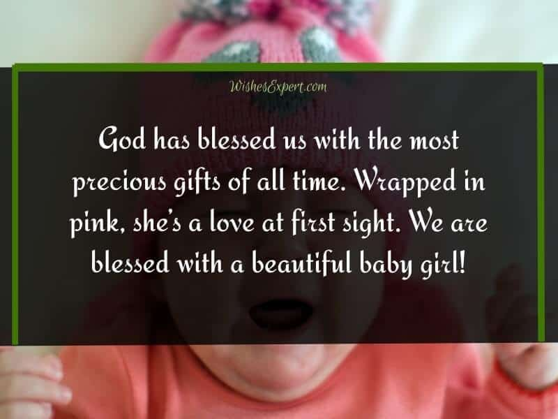 Best Baby Girl Announcement Quotes