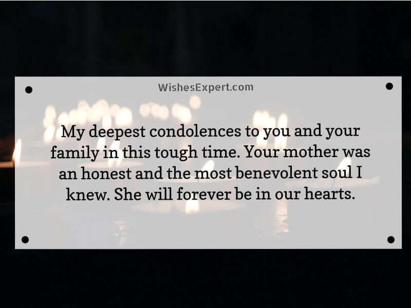 Condolence-Messages-For-Loss-Of-Mother