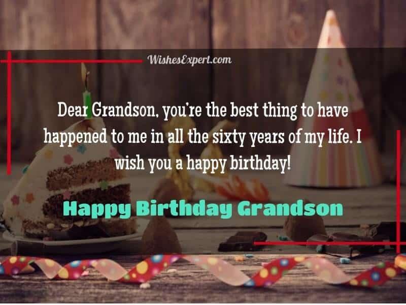 Happy Birthday Grandson