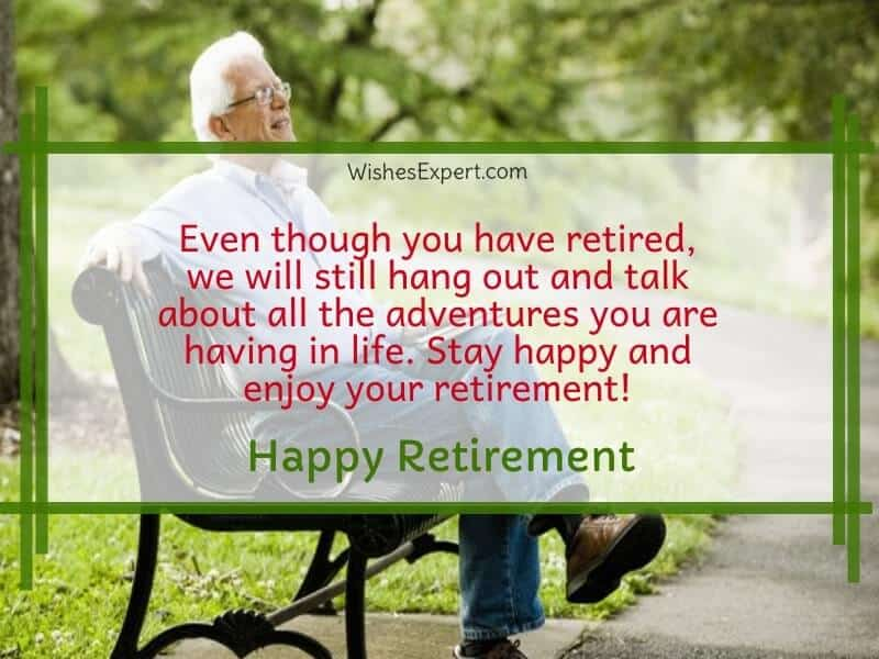 Retirement Congratulations