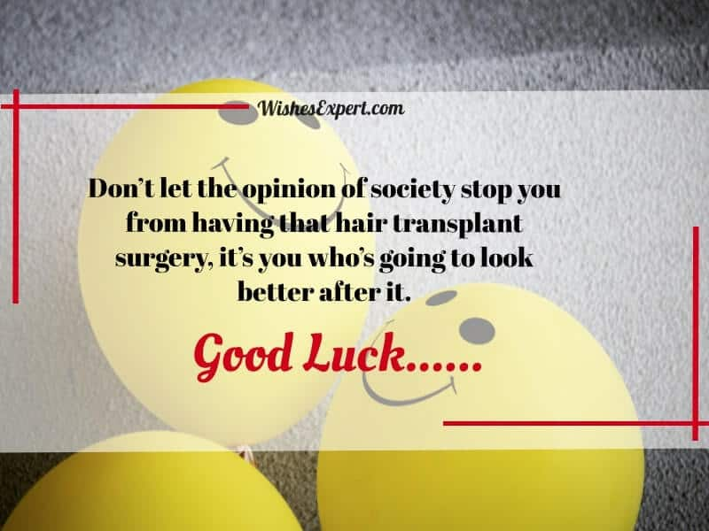 Words for Someone Having Surgery