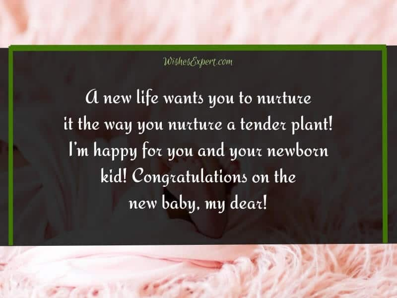 Congratulations on New Baby