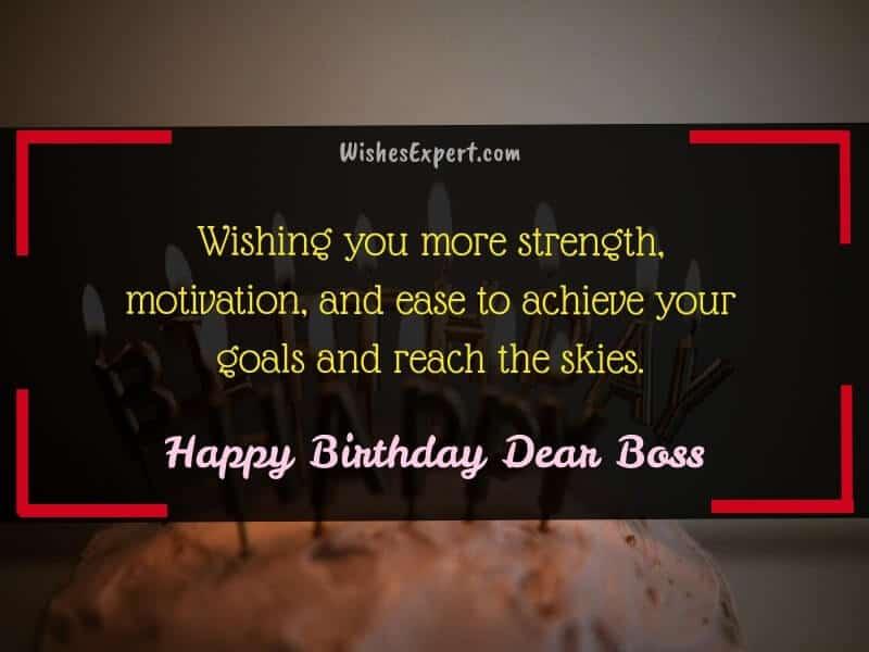 boss birthday