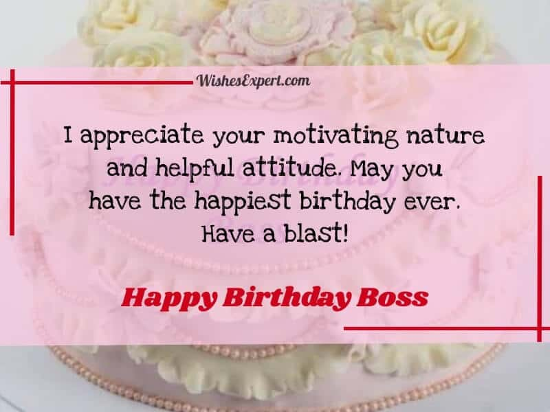 birthday quotes for boss