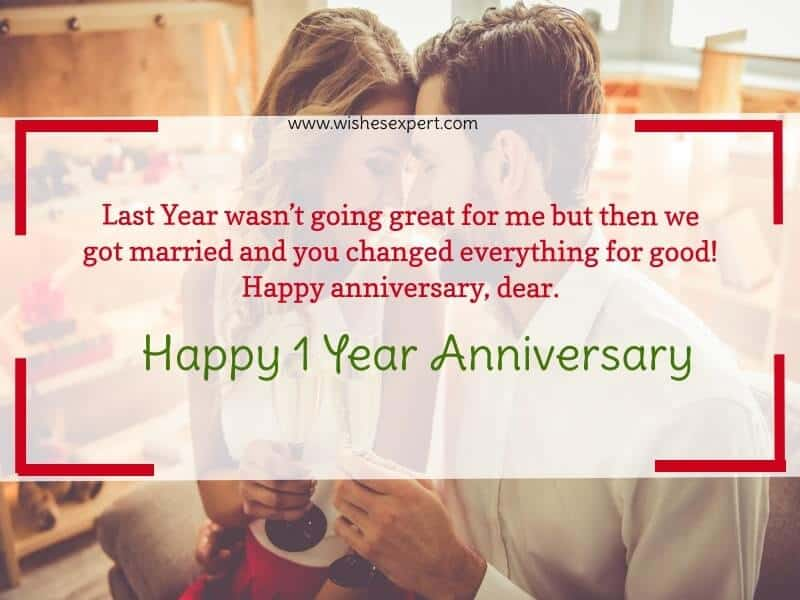 1 Year Anniversary Quotes
