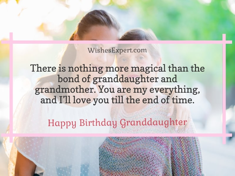 happy birthday quotes for granddaughter
