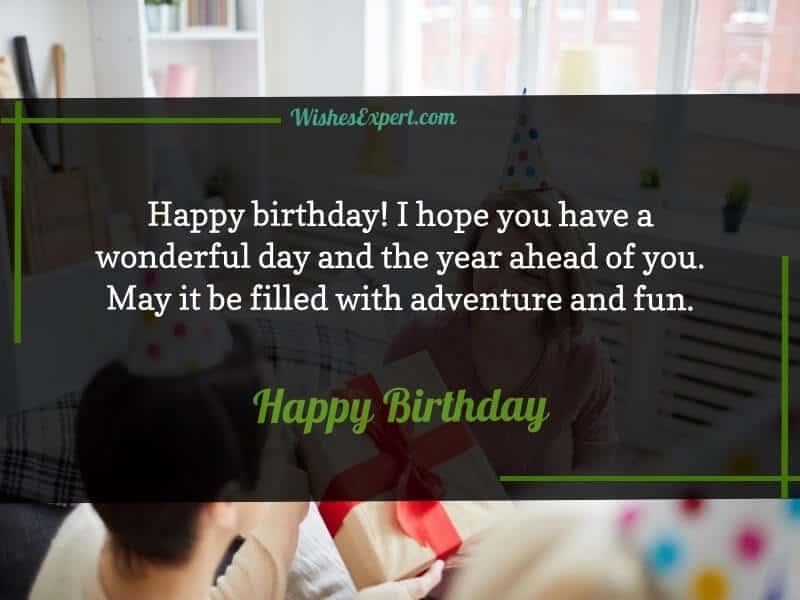 short birthday messages