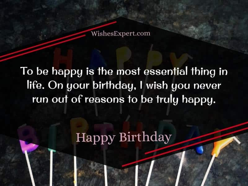 simple birthday messages
