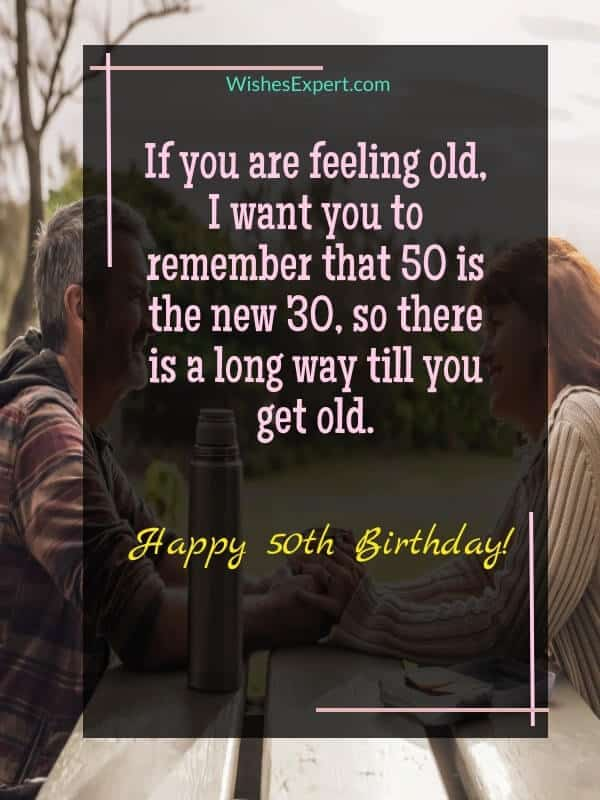 quotes for 50th birthday