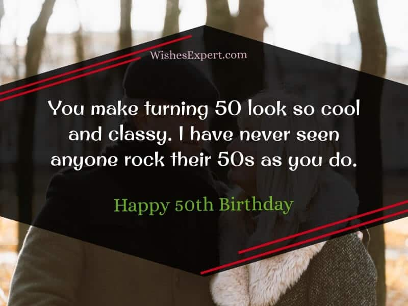 wishes for 50th birthday