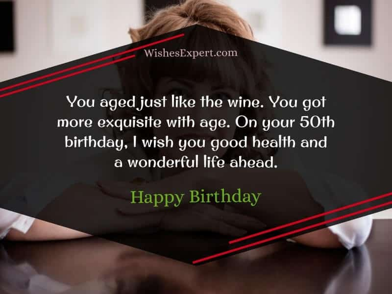 50th birthday wishes and quotes