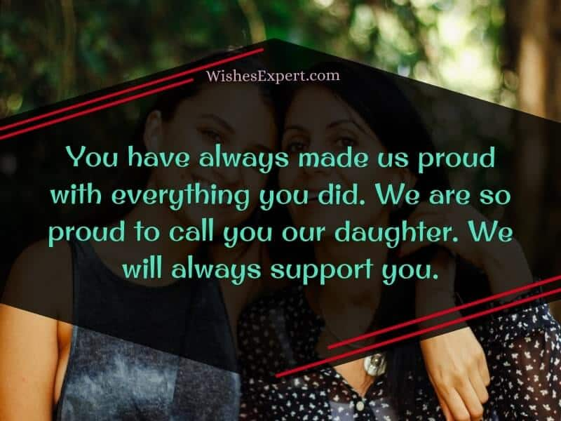 I love you daughter quotes and messages