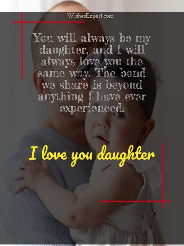 love message for daughter