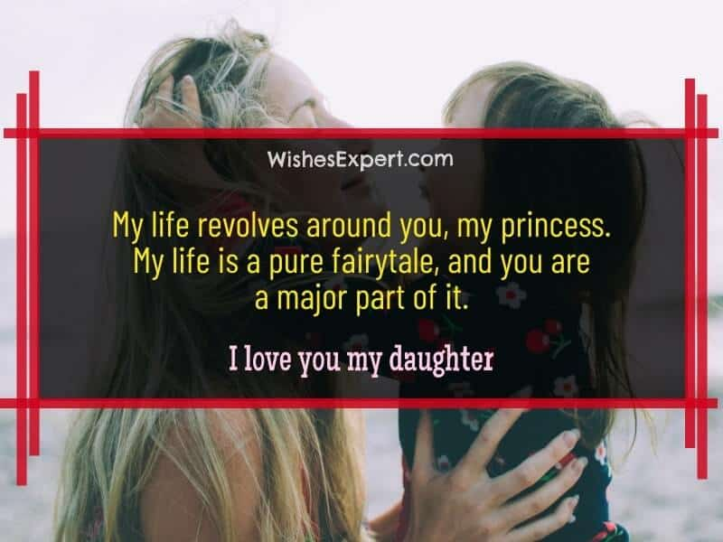 I love you my daughter quotes