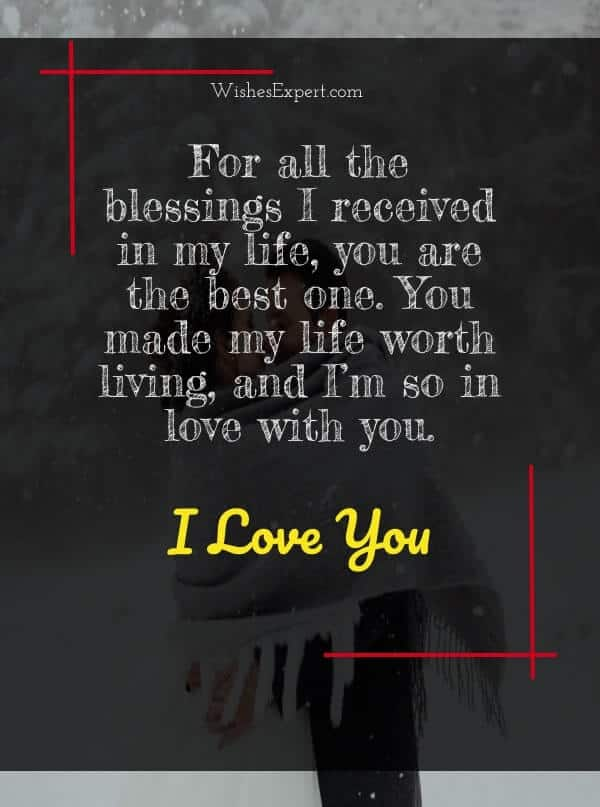 love you text message for boyfriend
