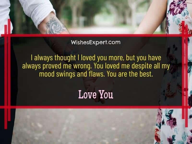 I love you boyfriend
