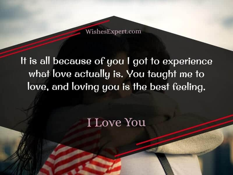 I love you messages for boyfriend
