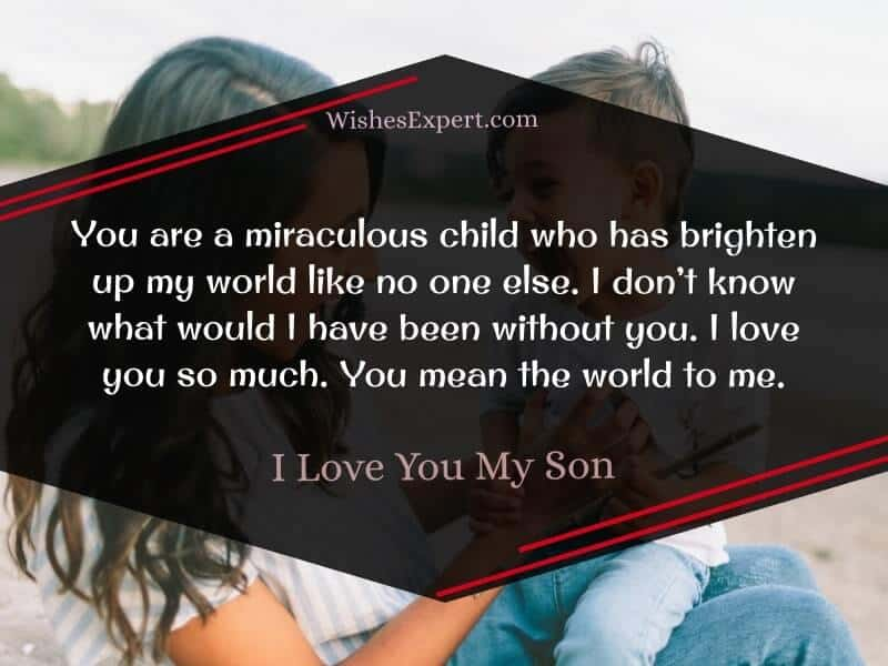love you son quotes