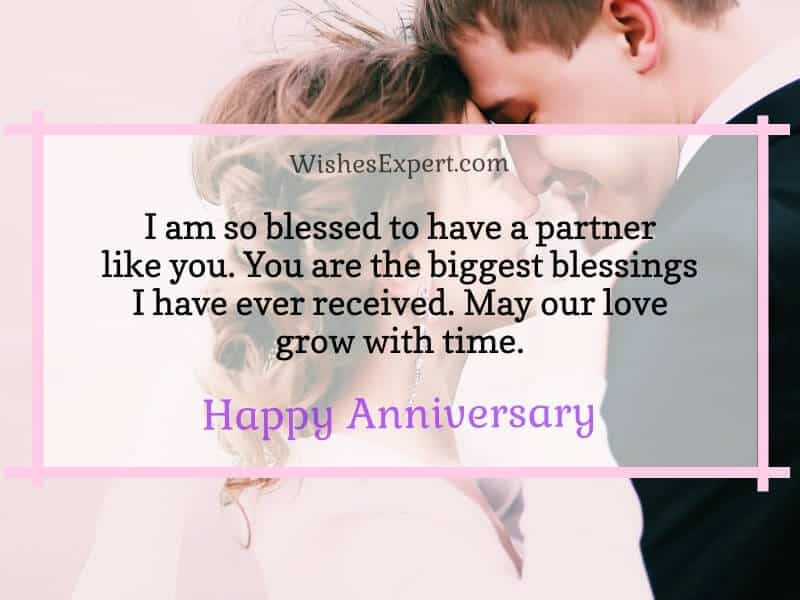 happy anniversary wishes for him