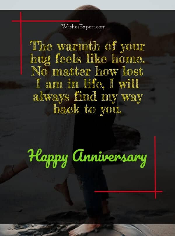 anniversary saying for him