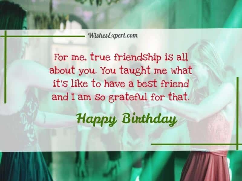 happy birthday wishes to my best friend