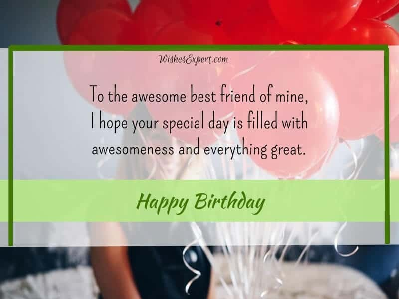happy birthday quotes for my best friend
