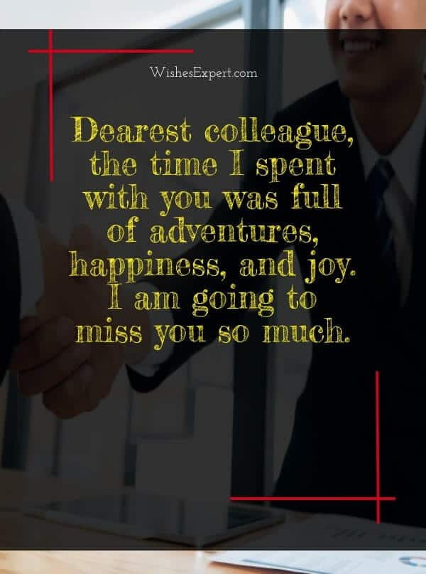 farewell quotes for colleagues