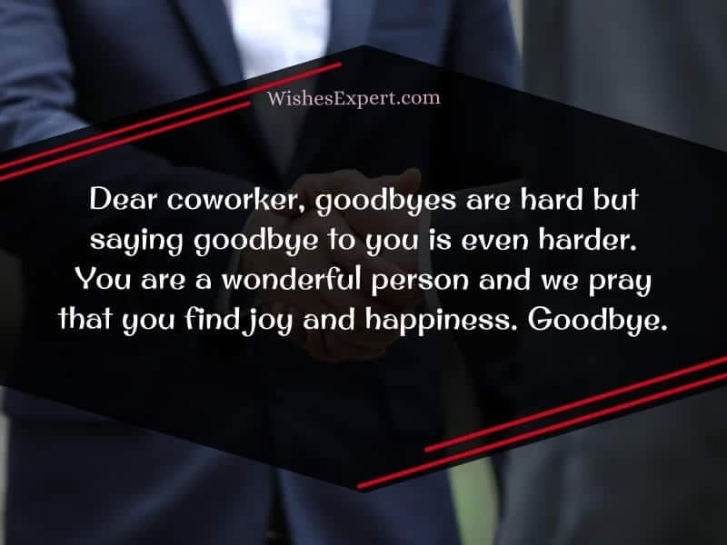 goodbye quotes for coworkers
