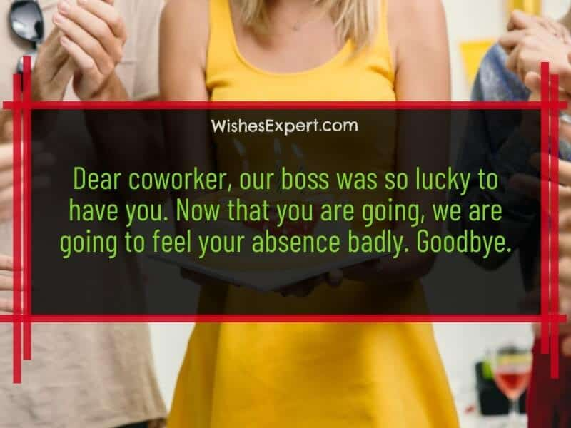 farewell quotes for coworker
