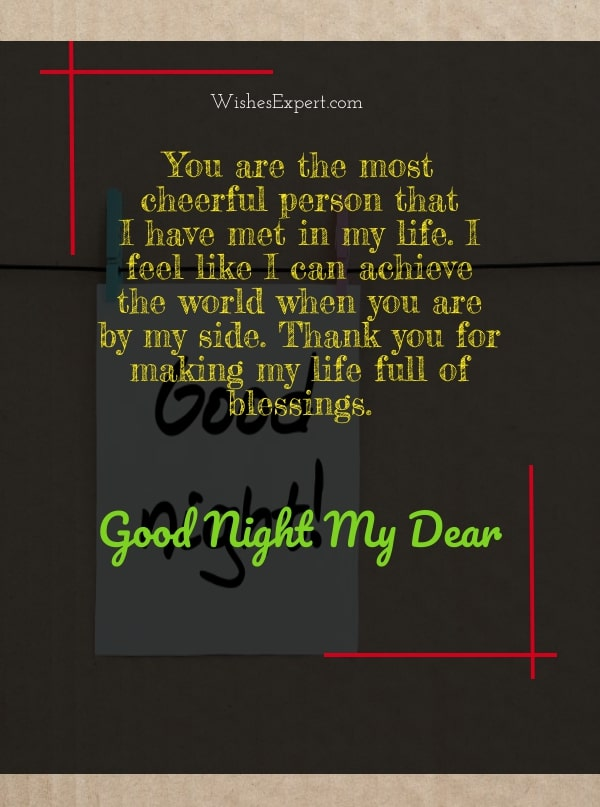 good night my love quotes