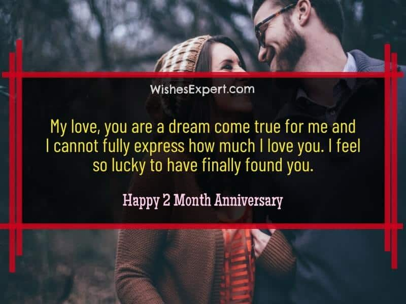 happy 2 month anniversary