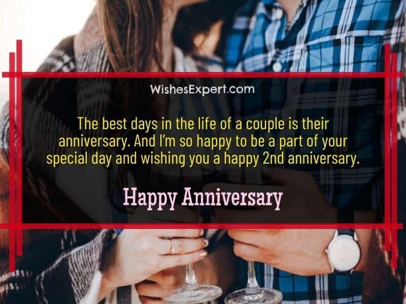 happy 2nd year anniversary wishes