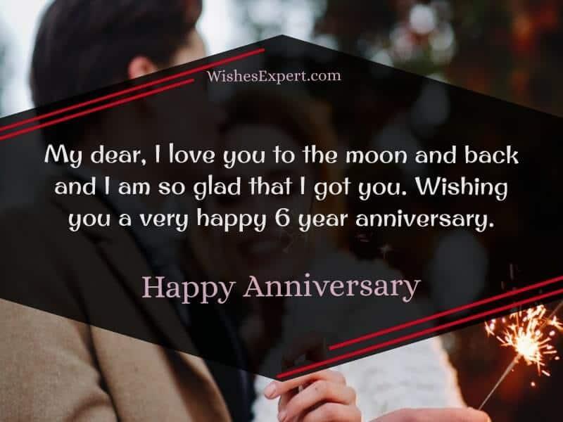 Happy 6 Year Anniversary