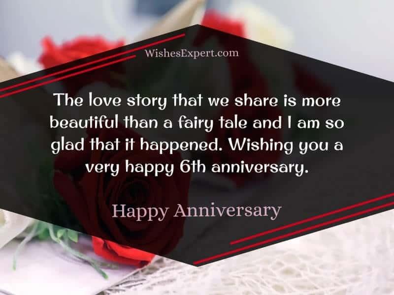 Happy 6th Anniversary
