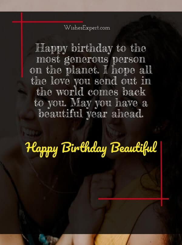 Happy Birthday to My Beautiful Friend with Images