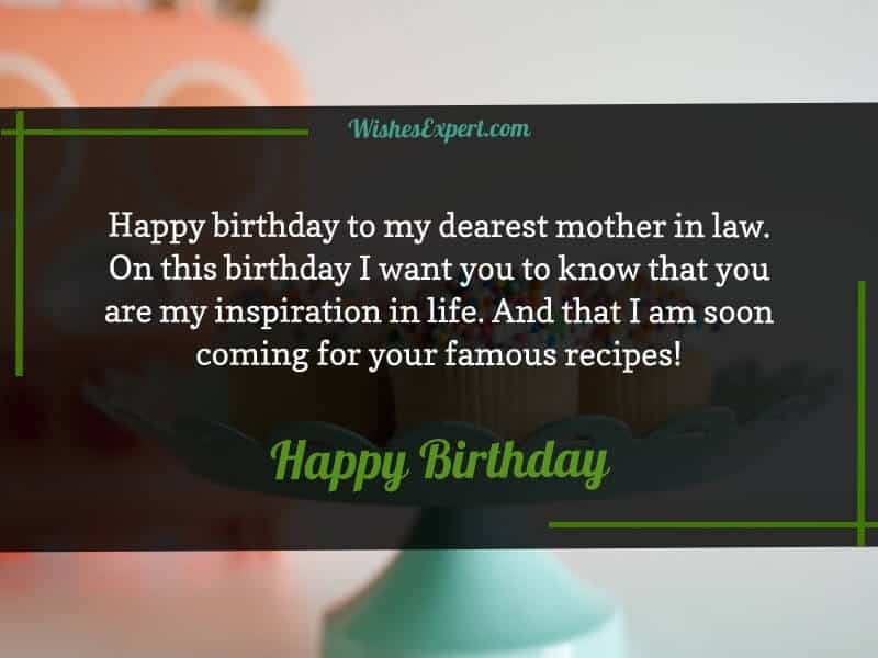 Happy birthday to my dearest mother-in-law.