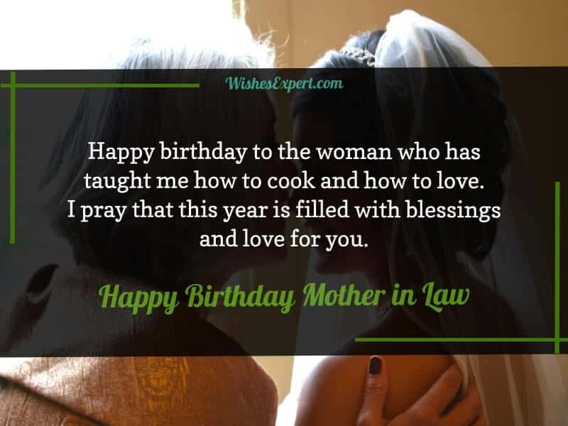 Happy birthday, mother-in-law