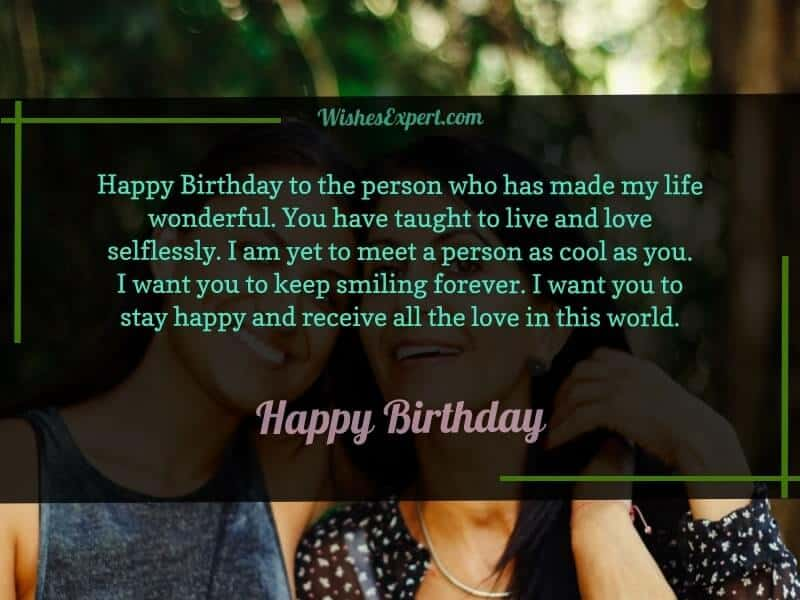 birthday wishes to a special person