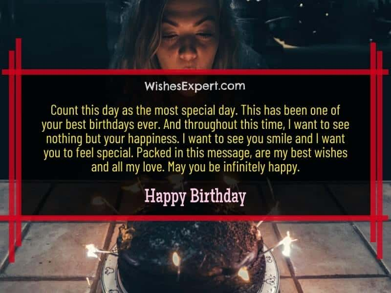 happy birthday wishes to a special person