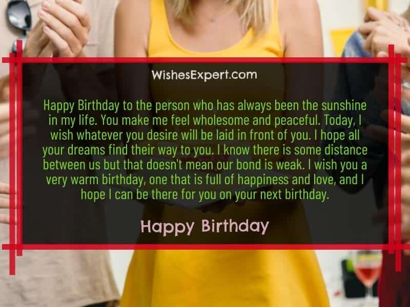 happy birthday wishes to someone special