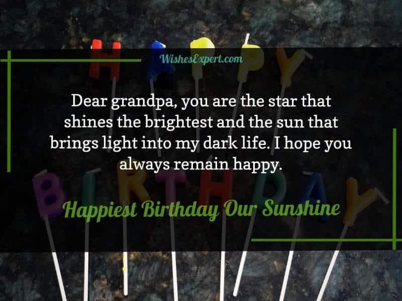 Grandpa Birthday Wishes